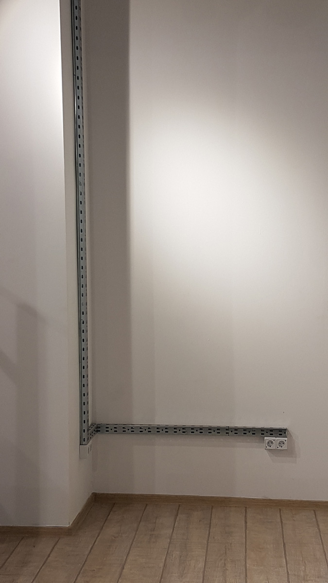 amenajare spatiu com. instalatie electrica, parchet , glet+lavabila